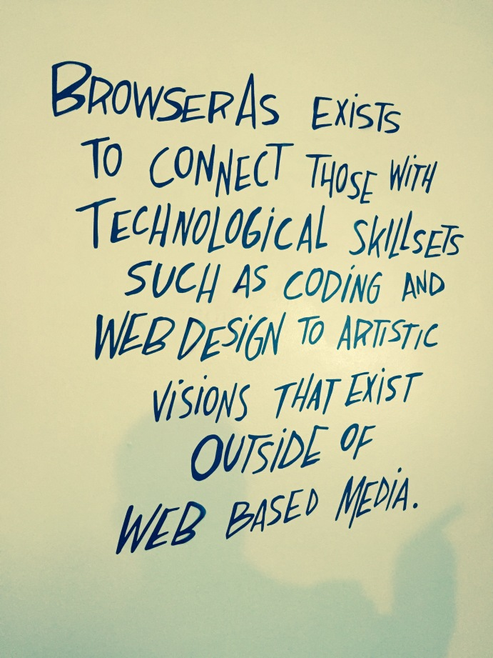 The BrowserAs mission statement declares what the website aims to achieve.