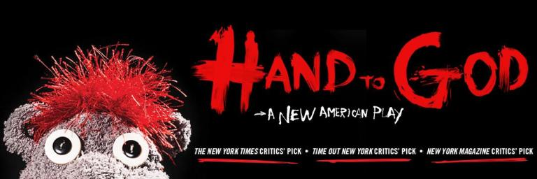 Hand to God is that back alley creep that found his way to Broadway and scared everyone with laughter and unadulterated  shock.